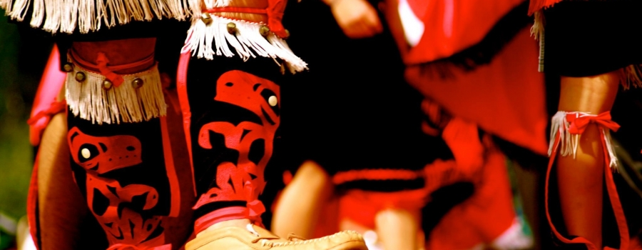 Gitxsan Dancers at K'san